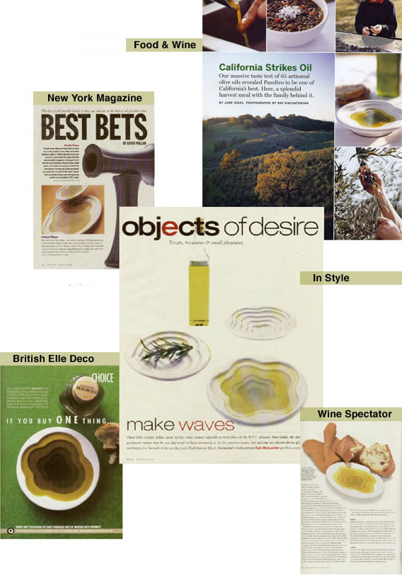 picture of magazines featuring our products